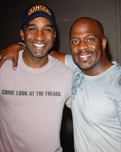 Norm Lewis and BeBe Winans