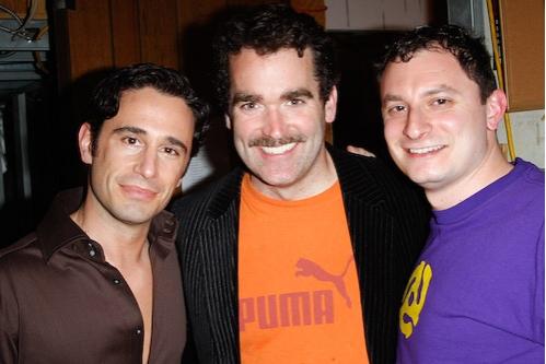 Christopher Gattelli,Brian d'Arcy James, and Dan Lipton