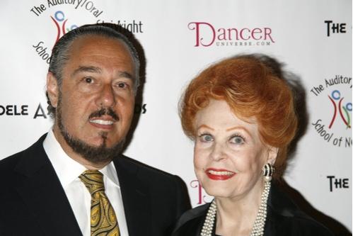 Mark Rosen and Arlene Dahl Photo