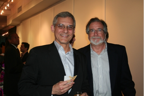 Rafael Pi Roman (PBS) and Bob Morris (PBS Producer/Director)  Photo