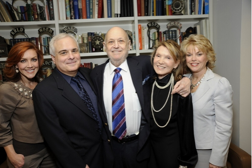 ANDREA McARDLE, PETER FILICHIA, CHARLES STROUSE, BARBARA SIMAN,  PAT MITCHELL