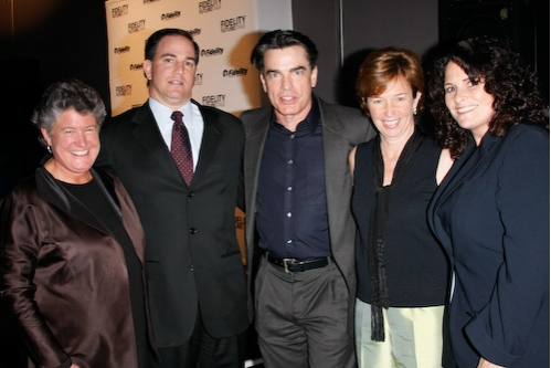 Nan Ives, Don Criniti, Peter Gallagher,Jen Murray, Lori Andrews