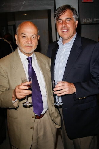Dr. Saul Unter and Jim Nolan from Sony Pictures