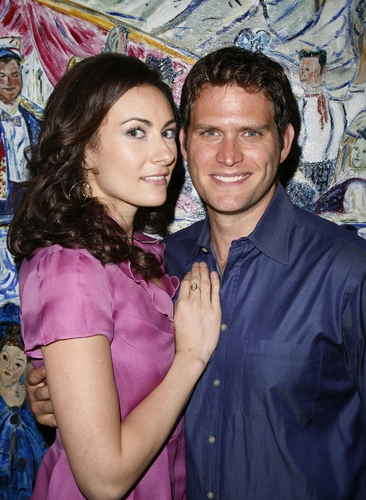 Laura Benanti and Stephen Pasquale