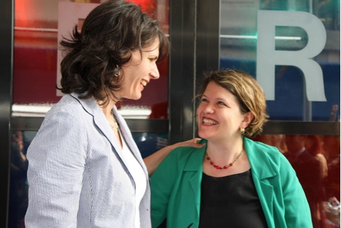Kate Levin and  Kristin Marting Photo