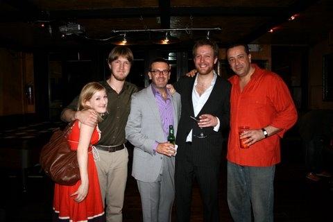 Carolyn McCandlish, James Carmichael, Jeremy Schwartz, Geordie Broadwater, and  Frank Rodriguez