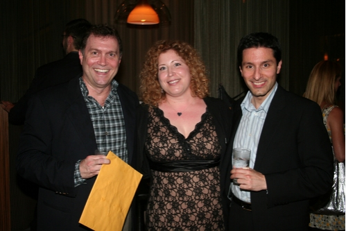 Stephen Bourneuf (Associate Choreographer), Lisa Cooney (Director of Education) and Vince Pesce (Choreographer)