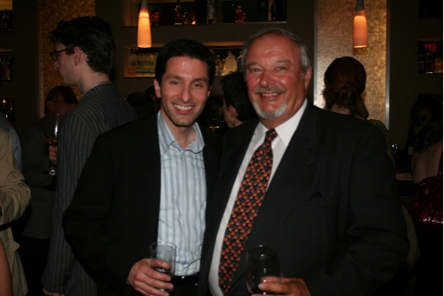 Vince Pesce with his father Vince Pesce