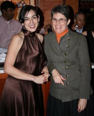 Elena Araoz and Susan Zeeman Rodgers