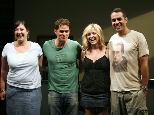 Ashlie Atkinson, Steven Pasquale,Jessica Capshaw, and at MCC Theater Neil LaBute Reading of FAT PIG