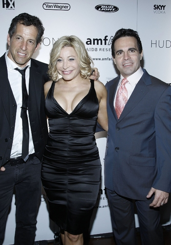 Kenneth Cole,Taylor Dayne and Mario Cantone
