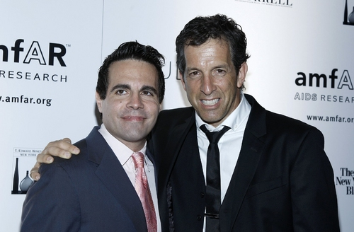 Mario Cantone and Kenneth Cole