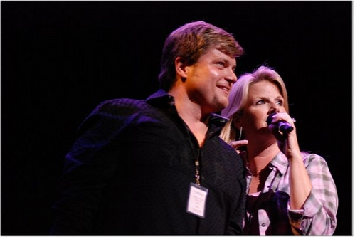 Rob Evan and Trisha Yearwood