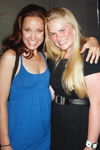 Sierra Boggess and Belle Aykroyd