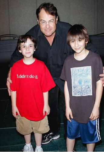 Dan Aykroyd with Trevor Braun and Brian D'Addario