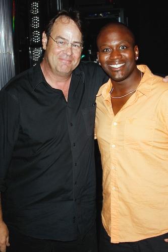 Dan Aykroyd and Tituss Burgess Photo