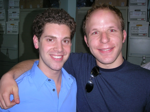 Max Quinlan and Casting Director Geoff Josselson