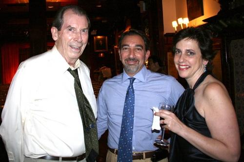 Richard Easton, Andrew Brozman and Susan Charlotte