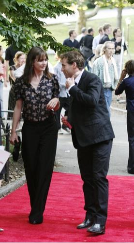 Emily Mortimer and Allesandro Nivola