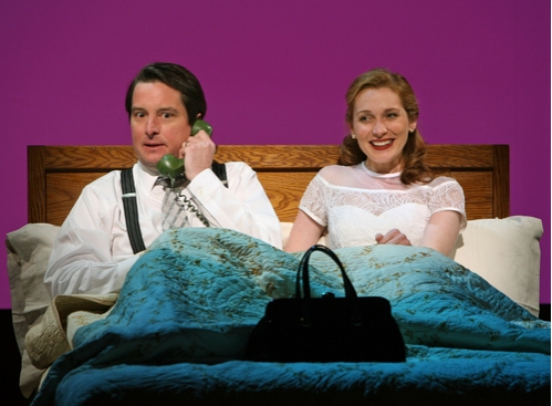 Christopher Evan Welch and  Kate Jennings Grant
