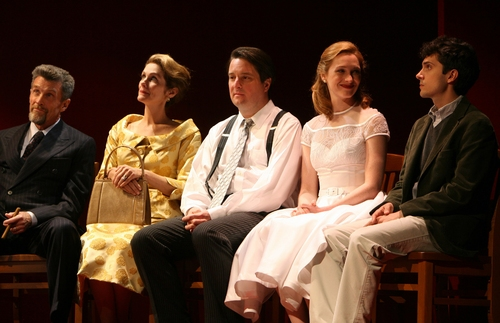 John Glover, Julie Hagerty, Christopher Evan Welch, Kate Jennings Grant, and Charles Socarides