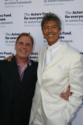David Michaels (Western Region Event Director) with Tommy Tune