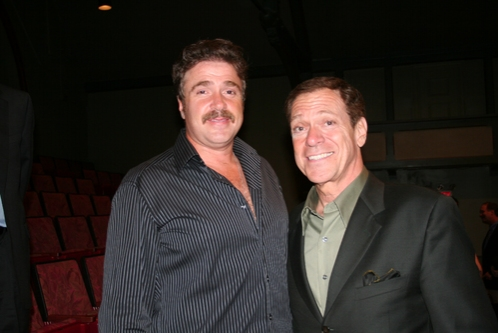 Michael Rispoli and Joe Piscopo  Photo
