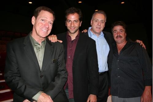Joe Piscopo, Michael Goldfried (Director), Vincent Gogliormella (Playwright) and Mich Photo