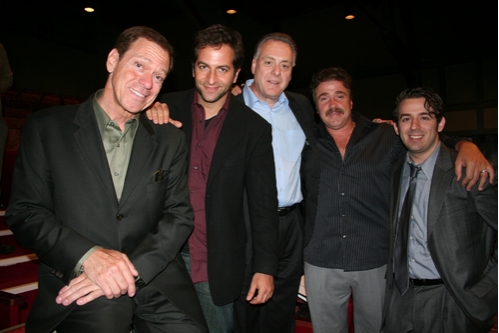 Joe Piscopo, Michael Goldfried, Vincent Gogliormella, Michael Rispoli and Aaron Grant (Producer)