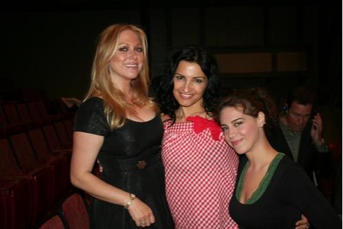Gianna Palminteri, Kathrine Narducci and Caley Chase