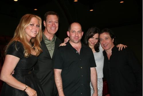 Gianna Palminteri, Joe Piscopo, Jason Kravits,Cara Buono and Federico Castelluccio  Photo