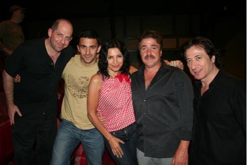 Jason Kravits, Jason Cerbone, Kathrine Narducci, Michael Rispoli and Federico Castelluccio