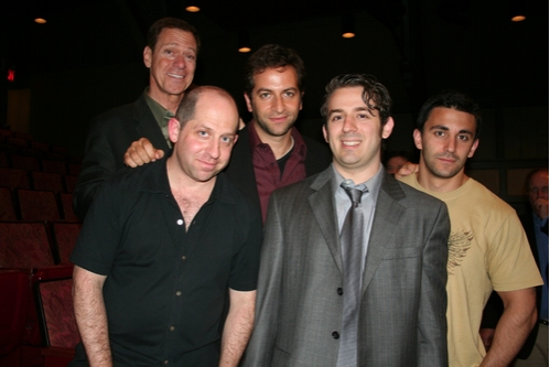 Joe Piscopo, Jason Kravits, Michael Goldfried, Aaron Grant and Jason Cerbone