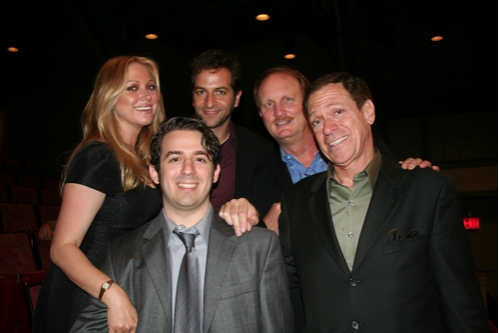 Gianna Palminteri, Aaron Grant, Michael Goldfried, Ken Denison (Producer) and Joe Piscopo