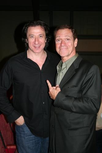 Federico Castelluccio and Joe Piscopo