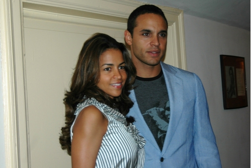 Daniel Sunjata and Rose Alba