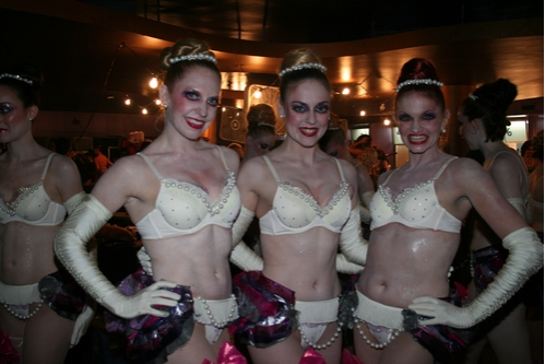 Jaime Fisher, Lori Barber and Katie Cameron