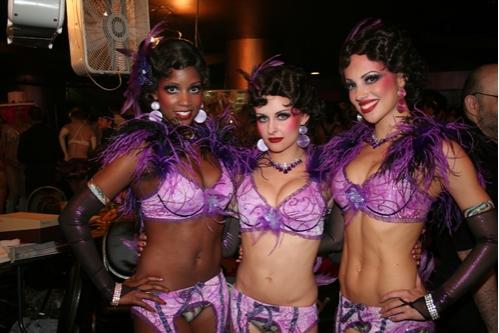 Erika Hamilton, Amy Ryerson and Nina La Farga