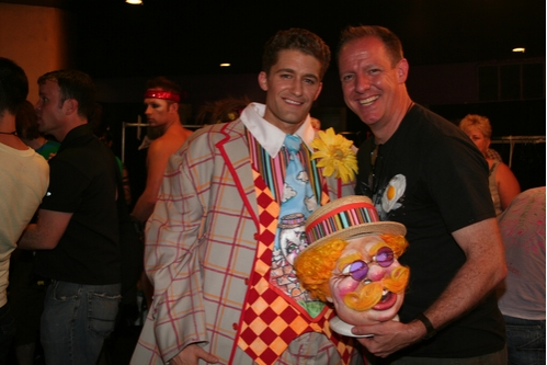 Matthew Morrison and Jeff Johnson