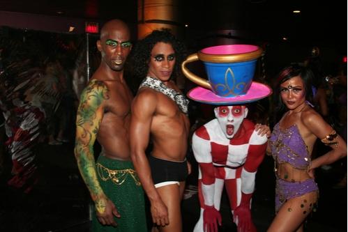 Ray Mercer, Gabriel Croom, Brandon O'Neal and Michelle Camaya  Photo