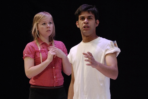 Stephanie Strohm and Rishabh Kashyap Photo