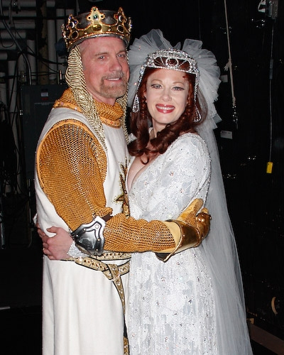 A very royal pair, Stephen Collins and Marin Mazzie