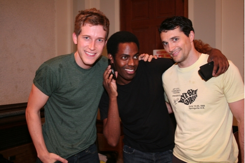 Anderson Davis (Ensemble), Baron Vaughn (Ensemble) and Nathan Balser (Ensemble)