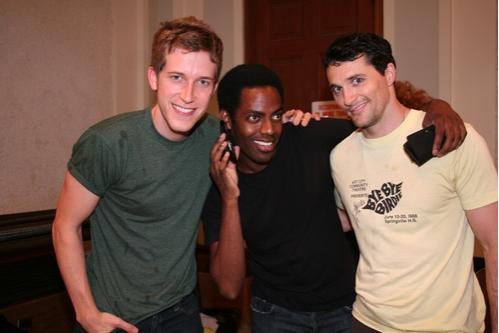 Anderson Davis (Ensemble), Baron Vaughn (Ensemble) and Nathan Balser (Ensemble)