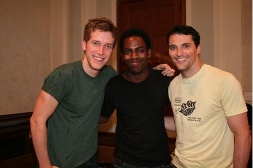 Anderson Davis, Baron Vaughn and Nathan Balser