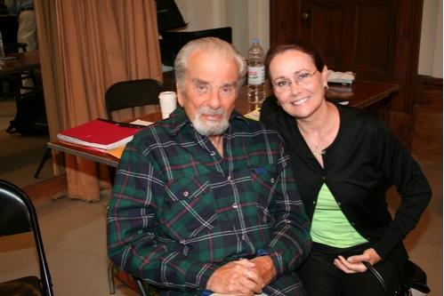 Creator Richard Adler (Music & Lyrics) and Susan Ivory  Photo
