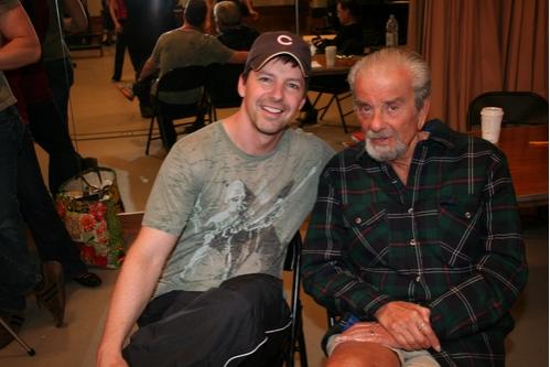 Sean Hayes and Richard Adler  Photo