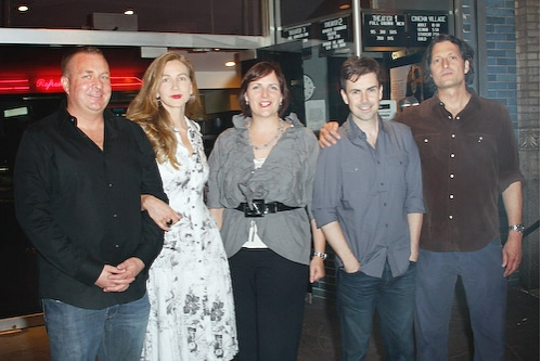 Producer Brian Benson, producer Xandra Castleton, Sheila Ennis, Matt McGrath, David Ilku and director David Munro