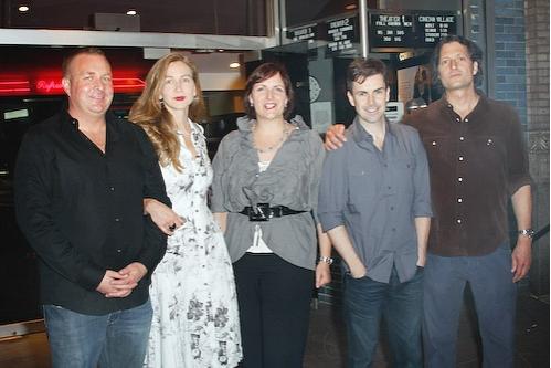 Producer Brian Benson, producer Xandra Castleton, Sheila Ennis, Matt McGrath, David Ilku and director David Munro