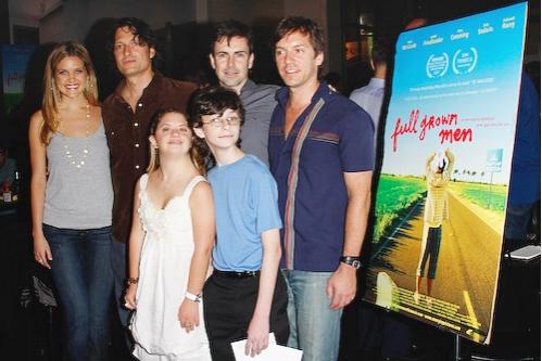 Lindsay Ryan, David Munro, Matt McGrath, David Ilku, (front) Jaime Buckwald and Benjamin Karpf
